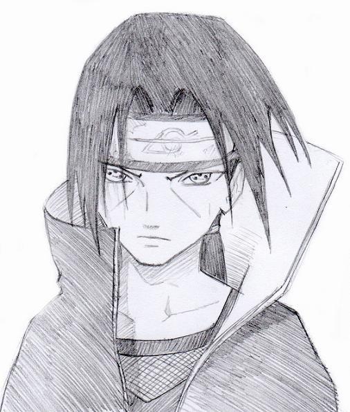 dessin manga itachi